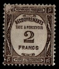 TAXE A PERCEVOIR n°62, Neuf SG = Cote 180 € / Lot Timbre France