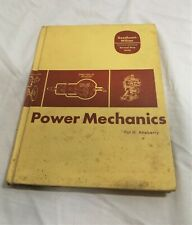 Power Mechanics by Atteberry, Explains Working of 2 & 4 Stroke & Turbine Engines