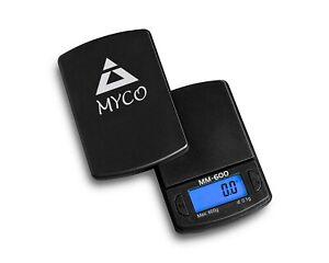On Balance 0.1g x 600g  Pocket Digital Scale Capacity Mini Weighing MM-600