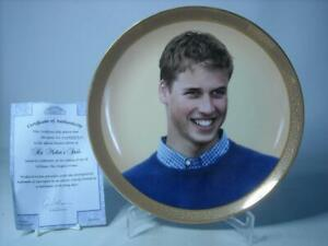 Davenport HIS MOTHER'S SMILE Plate William The People's Prince + COA