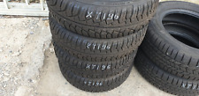 4x Winterreifen 195/65 R15 91T M+S Uniroyal MS Plus 77 Dot.14 2x6mm 2x8mm XT196
