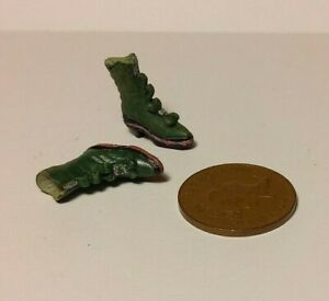 Dolls House Miniature 1:12 Scale Childrens Victorian Style Boots