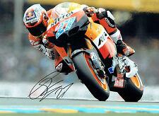 Casey STONER Autograph SIGNED Photo 16x12 Repsol HONDA Rider AFTAL COA