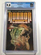 Horror Comics #1 CGC 9.8 Andolfo Variant Chamber of Chills #19 Homage Antartic