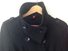 H&M Black Military Coat EU 36