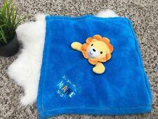 Baby Gear Baby Boy Security Blanket Lion 14x15