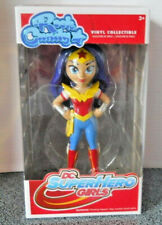 Rock Candy Dc Super Hero Girls Wonder Woman Vinyl Collectible by Funko New