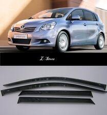 For Toyota Verso 2009-2012 Side Window Visors Sun Rain Guard Vent Deflectors