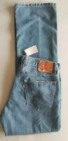 LEVI STRAUSS Men 559 Relaxed Straight Stretch Cotton Denim Jean - 34x34 Med Blue