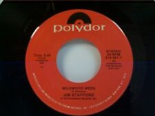 "JIM STAFFORD ""WILDWOOD WEED"" / JUD STRUNK ""DAISY A DAY"" 45 MINT OLDIE"