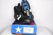 Vintage 90s New Converse Mens 11 Cons Invader Hi Leather Football Cleats Black