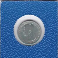 25 cents Niederlande 1895 Wilhelmina Netherlands