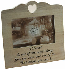 A Special Friend Wooden Photo Frame 20 X 20 cm