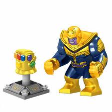 AU Avengers Super Hero Marvel Thanos Gauntlet Mini Figures Minifigure for L go