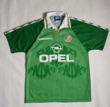 Vintage Republic Of Ireland FAI Soccer Jersey By Umbro Size M