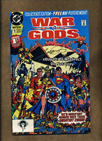 1991 War Of The Gods #1 Collectors Edition Signed by George Perez w/CoA