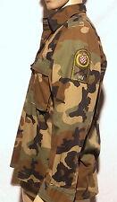 Chemise Camouflage Militaire Armée Croate+Patchs T42
