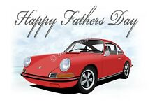 Porsche 911 912 912 e voiture fête des pères carte