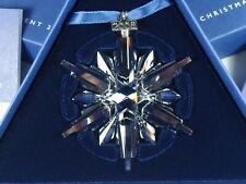 Swarovski Christmas Ornament 2006 Mib #837613