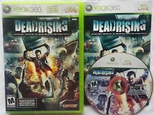DEADRISING DEAD RISING MICROSOFT XBOX 360 LIVE VIDEO GAME COMPLETE FREE SHIPPING