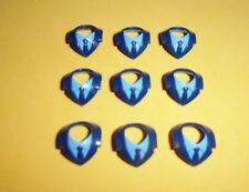 Playmobil cuellos corbata, avec colliers rembourrés, des colliers, des patins