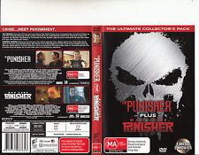 Punisher-2004-Tom Jane/Punisher:War Zone-2008-2 Movie-DVD