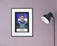 Valentino Rossi Autogramm Kopie & Foto 20x30 A4 Autograph Reprint Copy