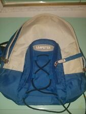 Leapster Backpack Bag Carry Case - Blue Grey Leapfrog