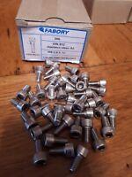 M6 - 6mm X 20mm  Stainless Steel Allen Bolts - Cap Head Screws A2 ( PACKS 10 )