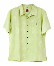 """Mens Casual Shirt Size Large Chest 46"""" Green Button Up Lightweight New #1432"""