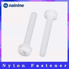 GB818 [M2 M2.5 M3 M4 M5 M6 M8] ISO7045 NL07 Screw Plastic Screws Nylon