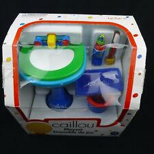 Caillou Doll Size Playset Ready For Bed Irwin Toy Sealed Box 2001