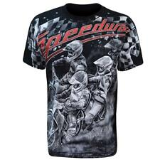 Aquila - SPEEDWAY RACERS - Mens T-Shirt / bikes, extreme sports,