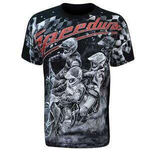 Aquila - SPEEDWAY RACERS - Mens T-Shirt / bikes, extreme sports