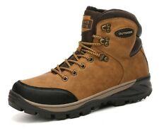Botas De Trabajo De Cuero De Invierno Con Piel Para Hombre Zapatos Impermeables
