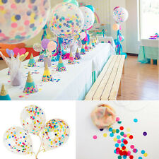 18 inch Clear Latex Balloons With Confetti Wedding Birthday Party Decoration
