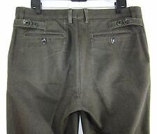 Dolce&Gabbana D&G Men's Denim Jeans Dark Gray Made in Italy Sz US 36x28 EUR 52