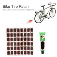 48pcs/lot Repair Kit Bike Bicycle Cycling Tyre Tire Film Rubber Tool Glue Patch