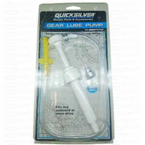 Lube Oil Pump Gear Lube Outboard Engine Drive Fill Drain Plug Replace 8M0072133