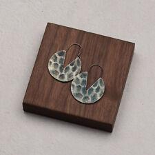 Round Earrings Bronze Earrings Women Earrings Birthday Gifts Drop Dangle Earring