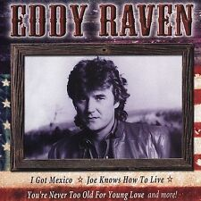 """EDDY RAVEN, CD """"ALL AMERICAN COUNTRY"""" NEW SEALED"""