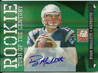 Ryan Mallett 2011 Donruss Elite Rookie Turn of the Century AUTO 70/199 bv$50