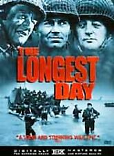 "THE LONGEST DAY (Widescreen DVD) {BRAND NEW!!} <<FREE SHIPPING!!>> Rated ""G'""."
