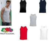 Fruit of the Loom Valueweight Athletic vest All Sizes