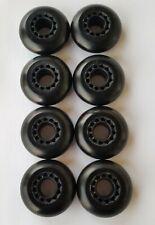 8x 70mm Outdoor Inline Skate Wheels rollerblade roller hockey fitness 68mm 72mm
