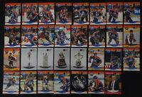 1990-91 Pro Set Edmonton Oilers Team Set of 34 Hockey Cards Missing 4 Cards