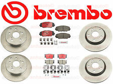 Brembo Kit Front & Rear Toyota RAV4 4cyl w/ 3rd Row Seating & V6 Made in Japan