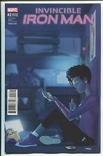 Invincible Iron Man #2 Anthony Piper Variant Cover - Marvel Comics/2016 - 1/25