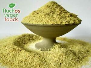 Premium Engevita Nutritional Yeast Flakes - Vegan Condiment Cheesy Nutty Taste