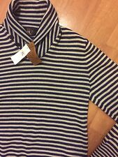 Ralph Lauren RRL Indigo Cream Cotton Sweater Small RRP £430